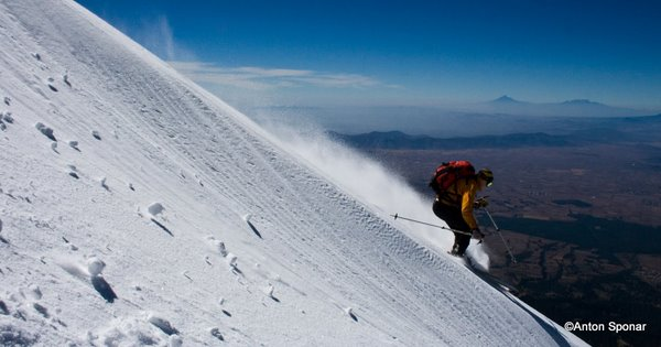 Powder skiing in Mexico!